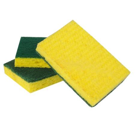 Scotch-Brite Scrub Sponges - 3 ea