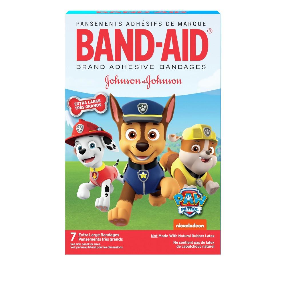 Band-Aid Brand Adhesive Bandages Paw Patrol Extra Large - 7ct