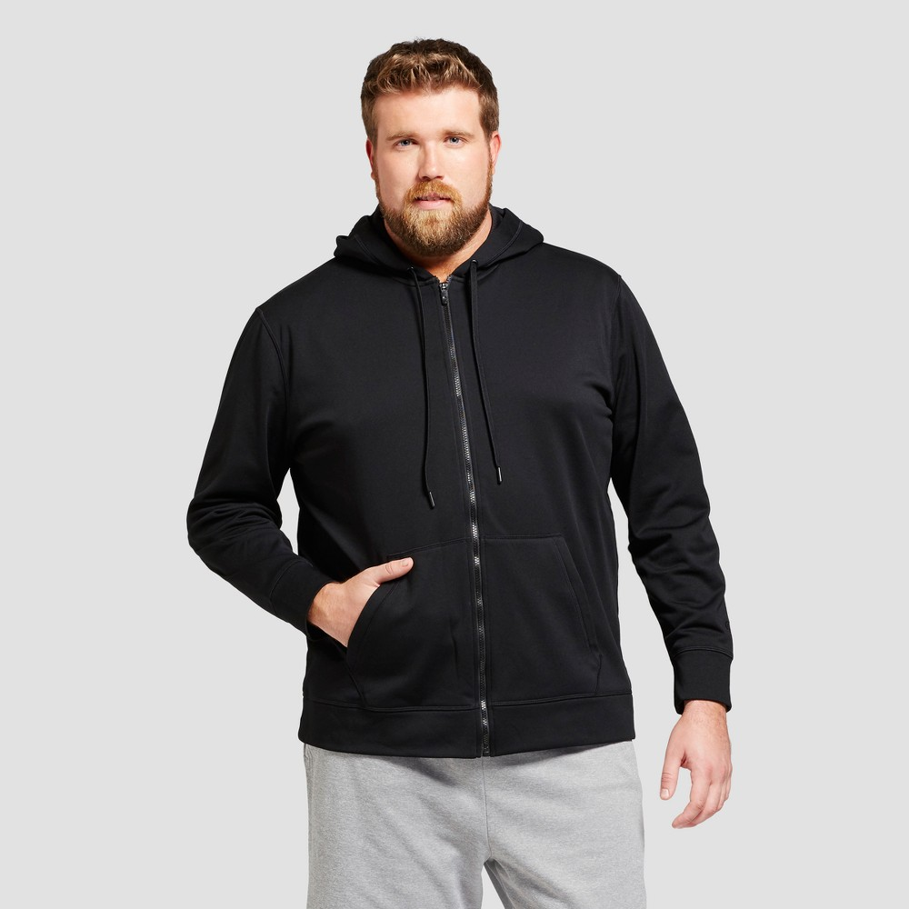 Men's Tall Tech Fleece Full Zip Sweatshirt - C9 Champion Black MT