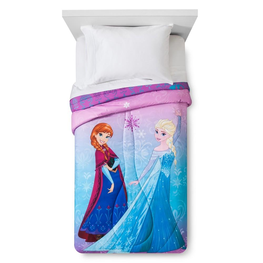 Frozen Twin Comforter, Multi-Colored