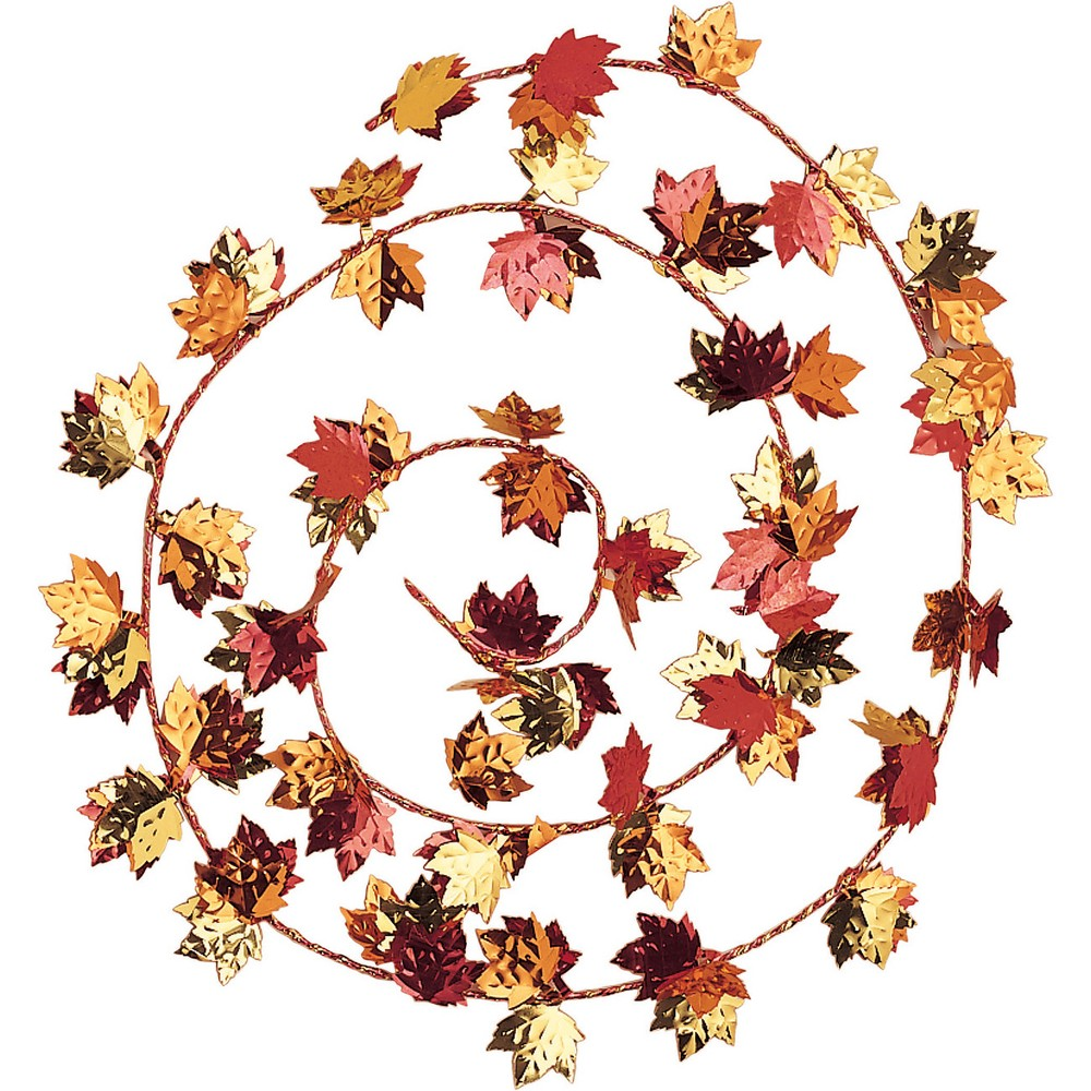 Fall Leaves Wire Garland, Party Decorations and Accessories