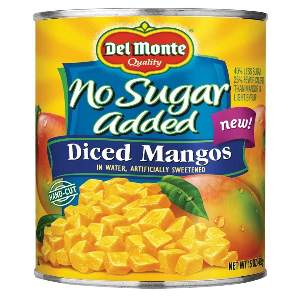 Del Monte Nsa Diced Mango 15oz