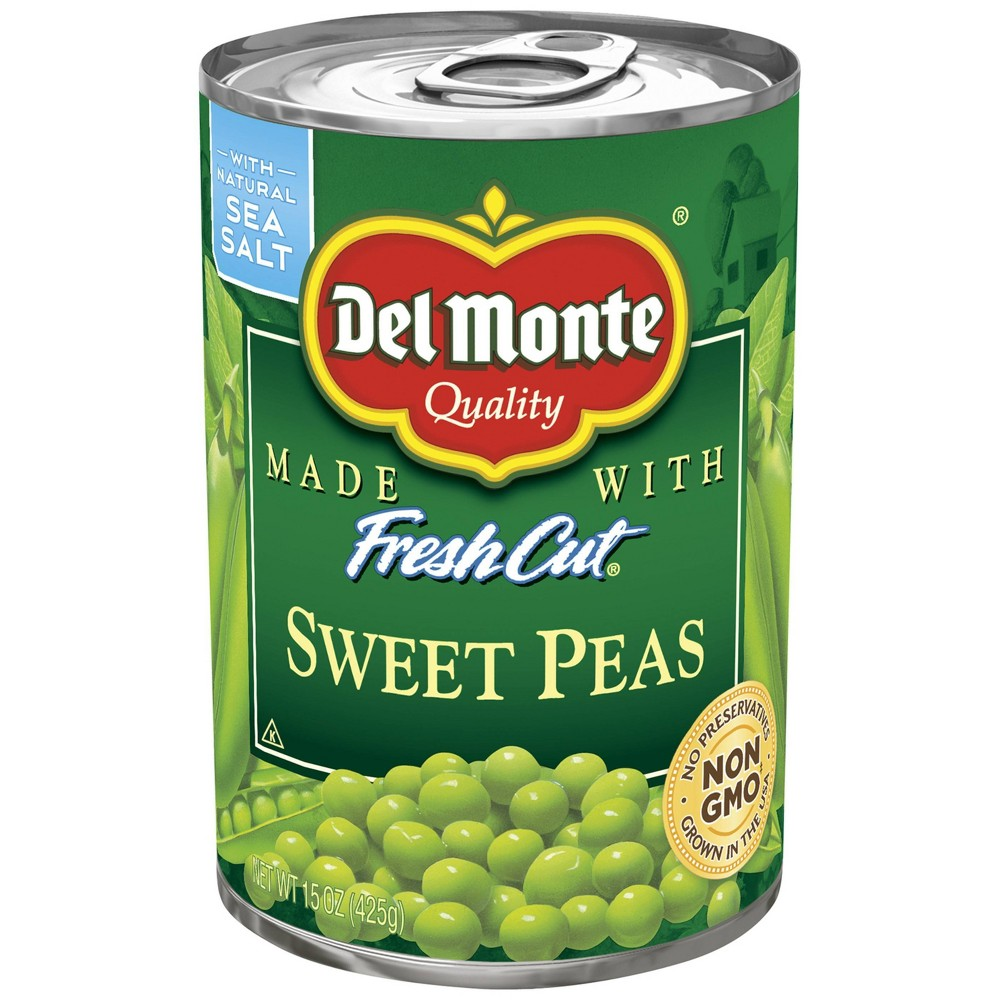 Del Monte Fresh Cut Sweet Peas 15 oz