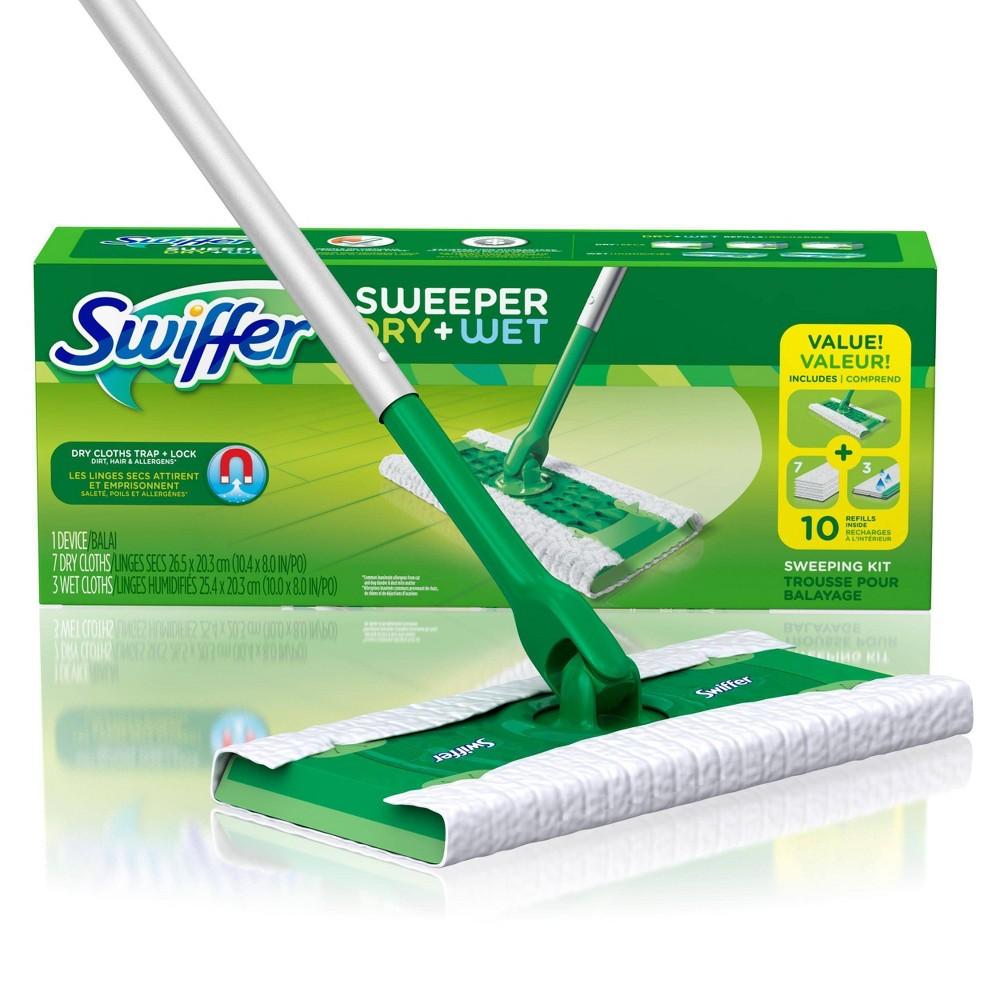 Swiffer Sweeper Dry + Wet Sweeping Kit