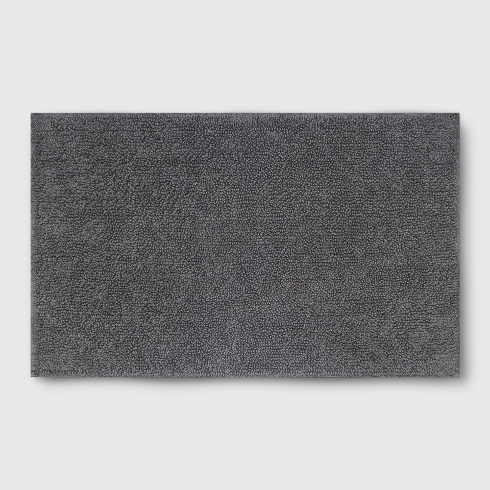Perfectly Soft Solid Bath Mat Pigeon Gray - Opalhouse