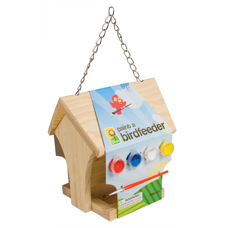 Toysmith Paint A Birdfeeder, Multi-colored, One Size