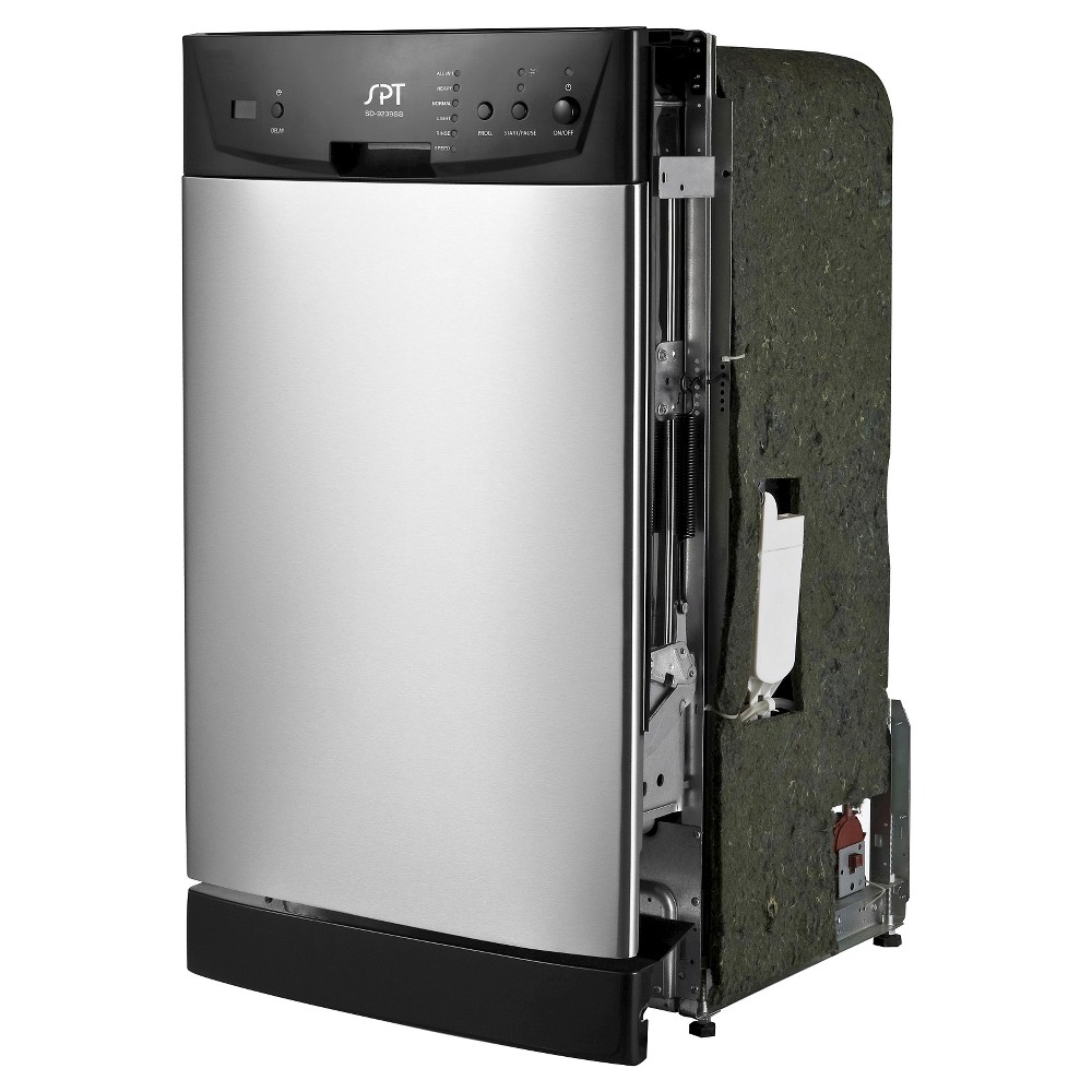 Sunpentown Built-In Dishwasher - Stainless Steel (Silver)