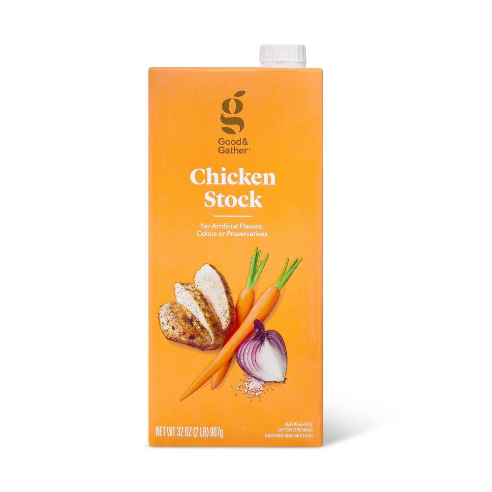 Chicken Stock - 32oz - Good & Gather