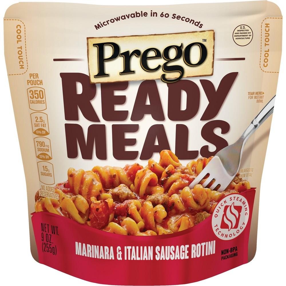 Prego Ready Meals Marinara & Italian Sausage Rotini 9 oz