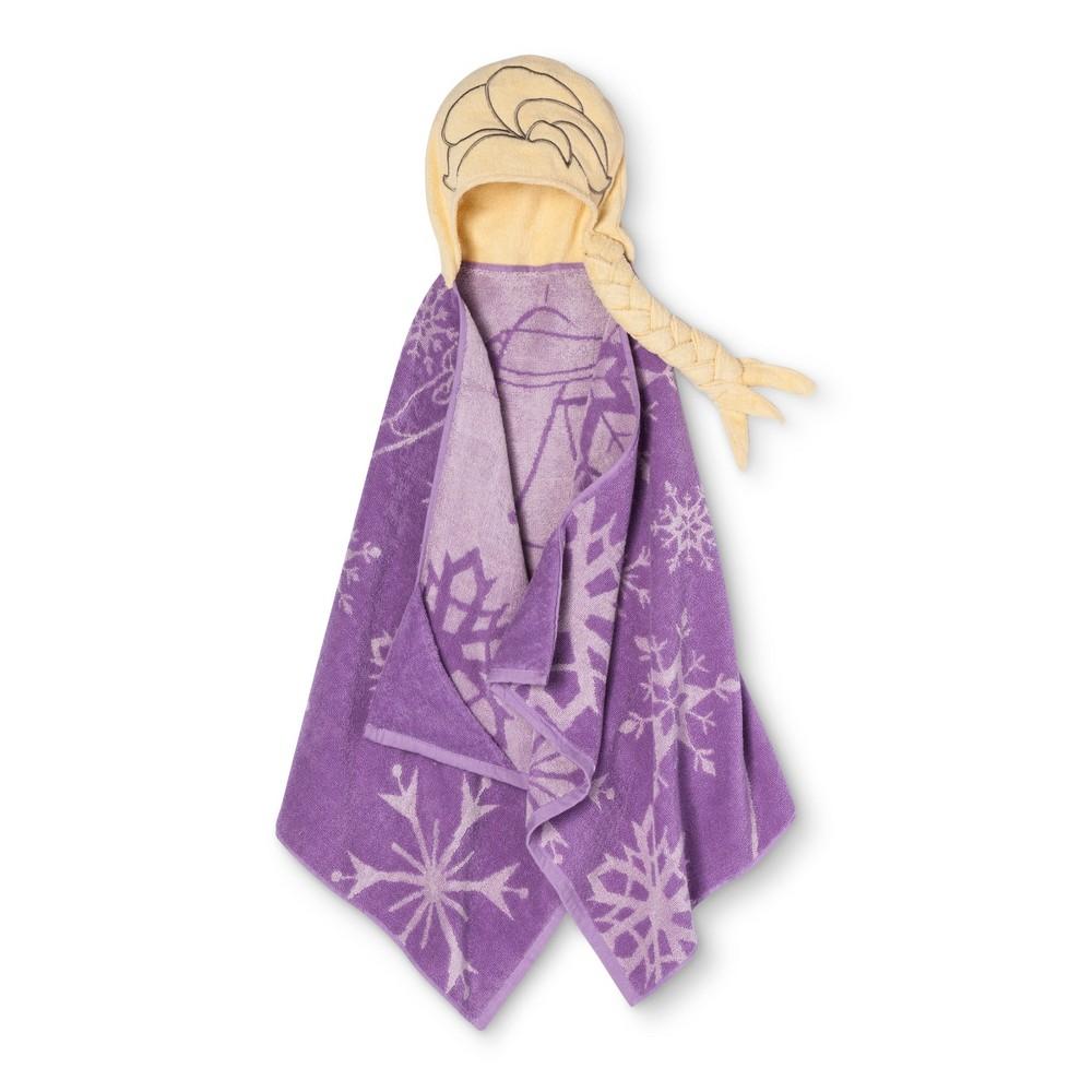 Disney Frozen Purple Bath Towel