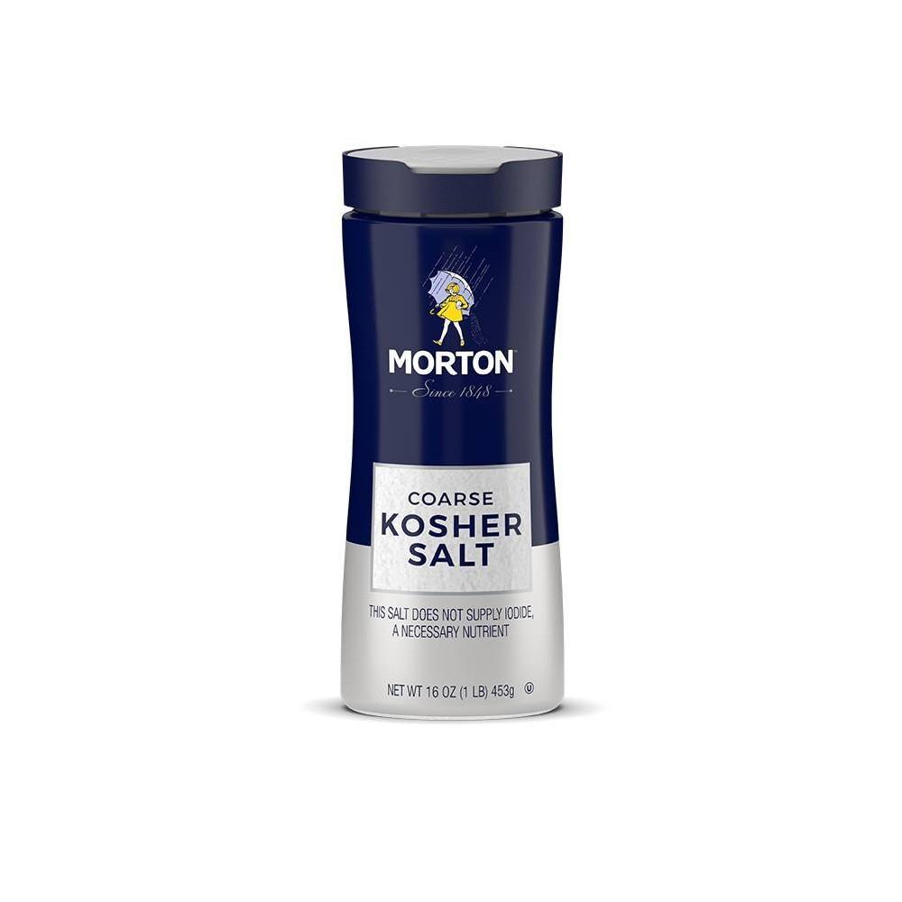 Morton Coarse Kosher Salt - 16 oz.