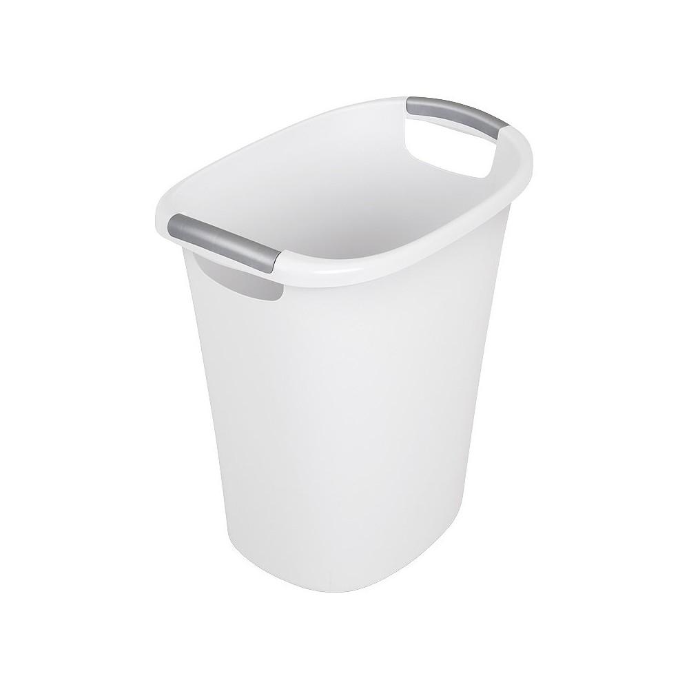 Sterilite 24 Qt./6 Gal. Wastebasket - White