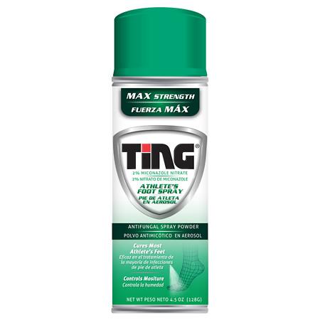 Ting Foot & Jock Itch, Antifungal Spray Powder - 4.5 oz.