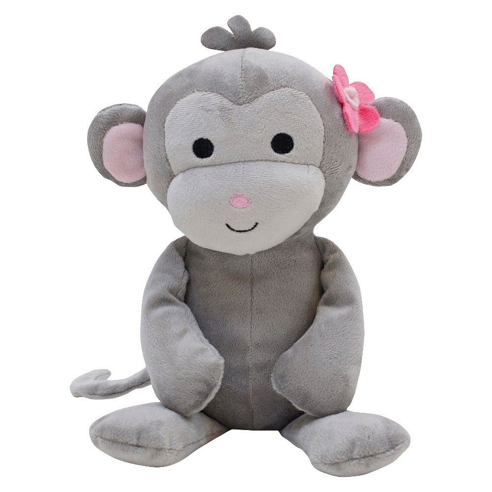 Bedtime Originals Pinkie Plush Monkey