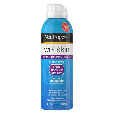 Neutrogena Wet Skin Sunscreen Spray, SPF 85 - 5 oz.