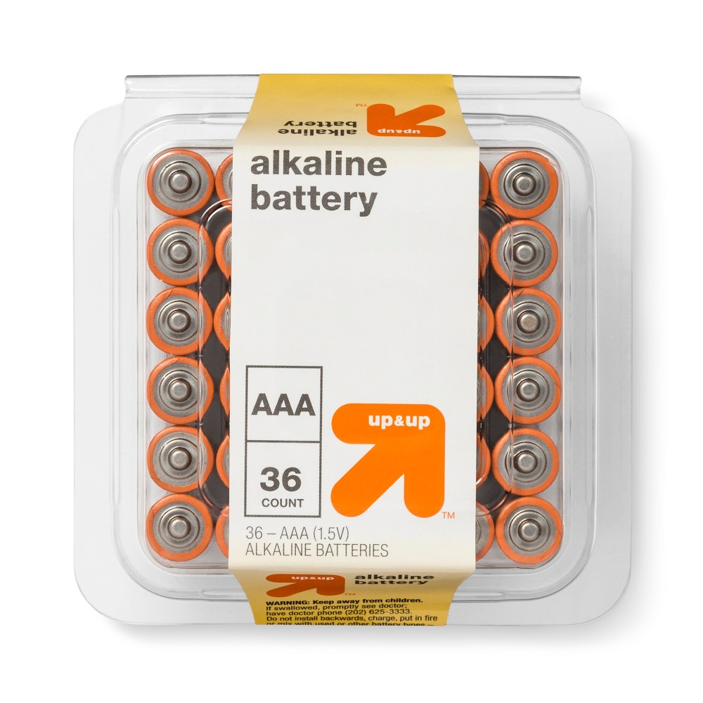Aaa Batteries - 36ct - Up&Up