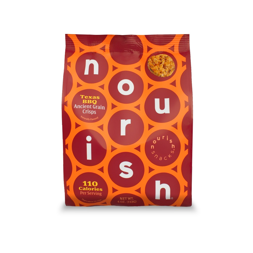 Nourish Snacks Ancient Grain Texas Bbq Crisps - 4oz
