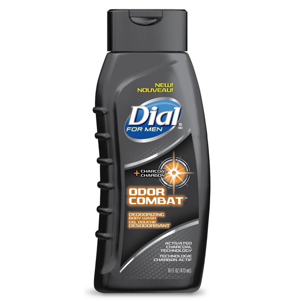 Dial Men Odor Combat Body Wash - 16oz