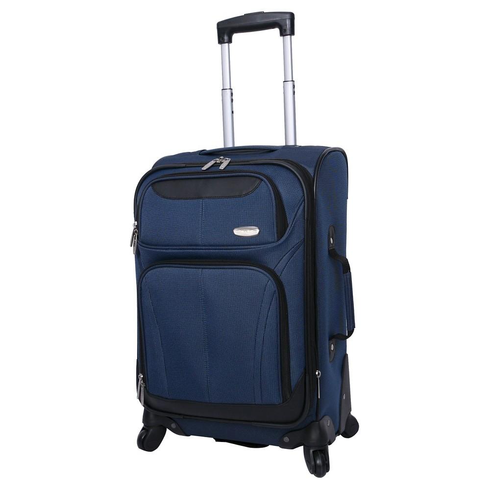 Skyline 21 Spinner Carry On Suitcase - Blue