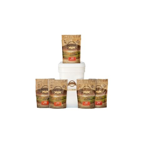 1 Month Emergency Food Supply Entree Only Bucket