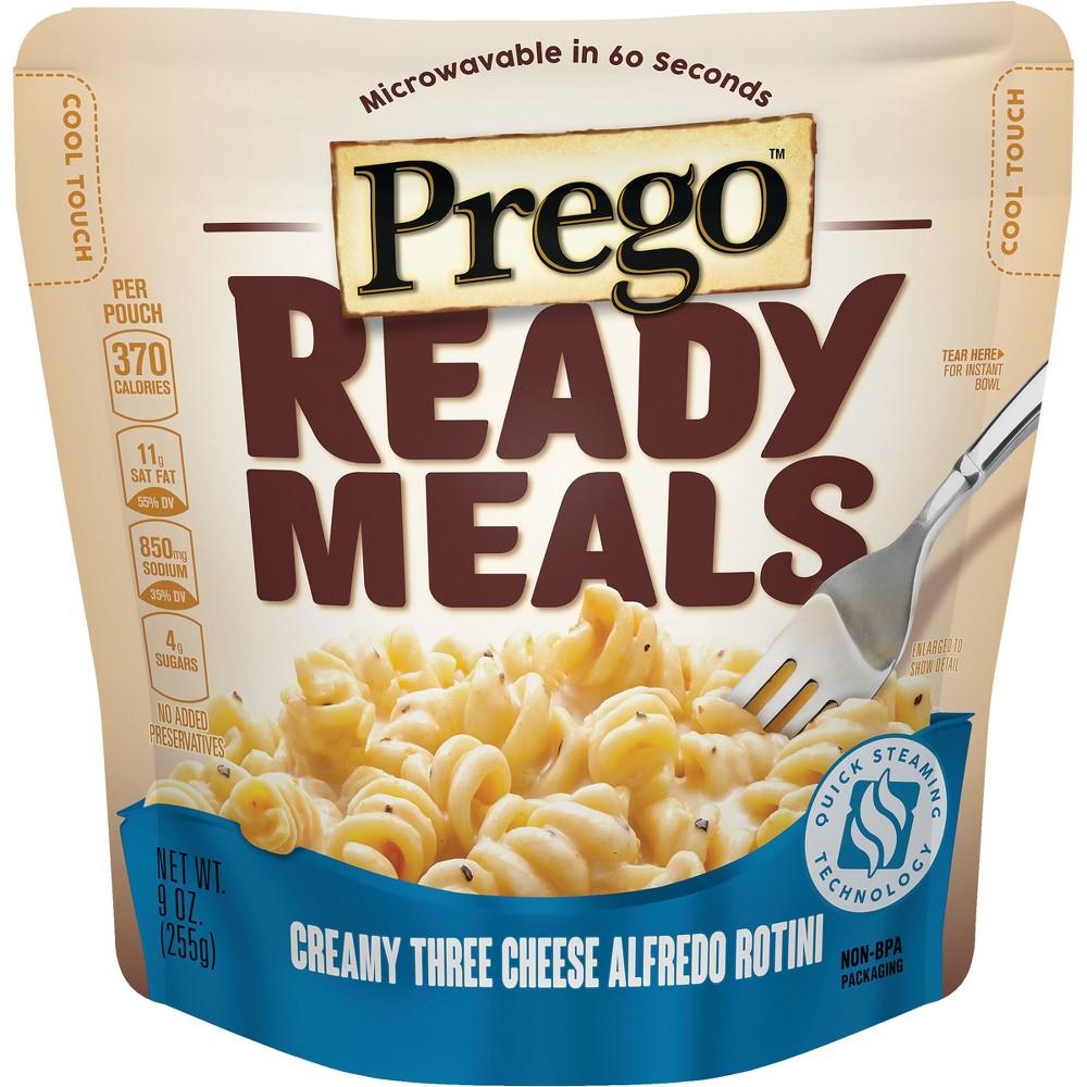 Prego Ready Meals Creamy Three Cheese Alfredo Rotini 9 oz