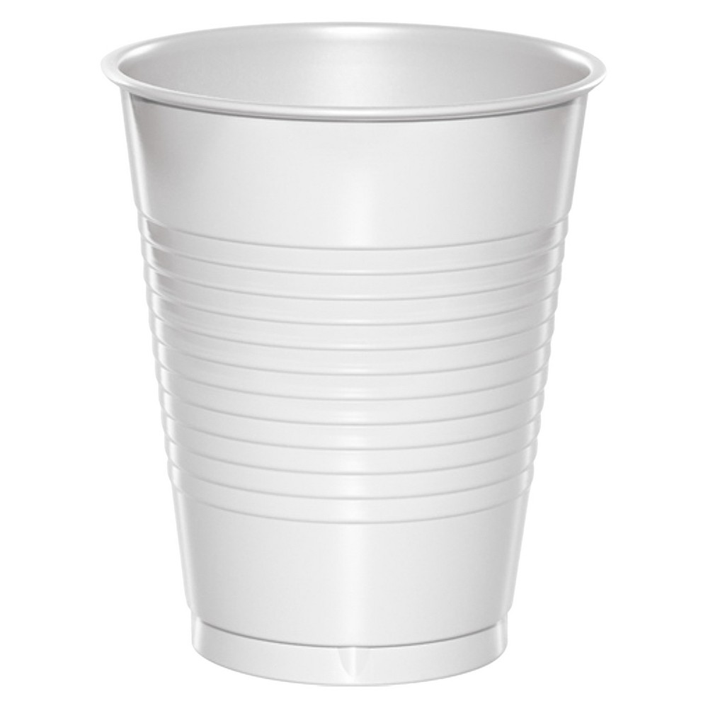 20ct White Disposable Cups