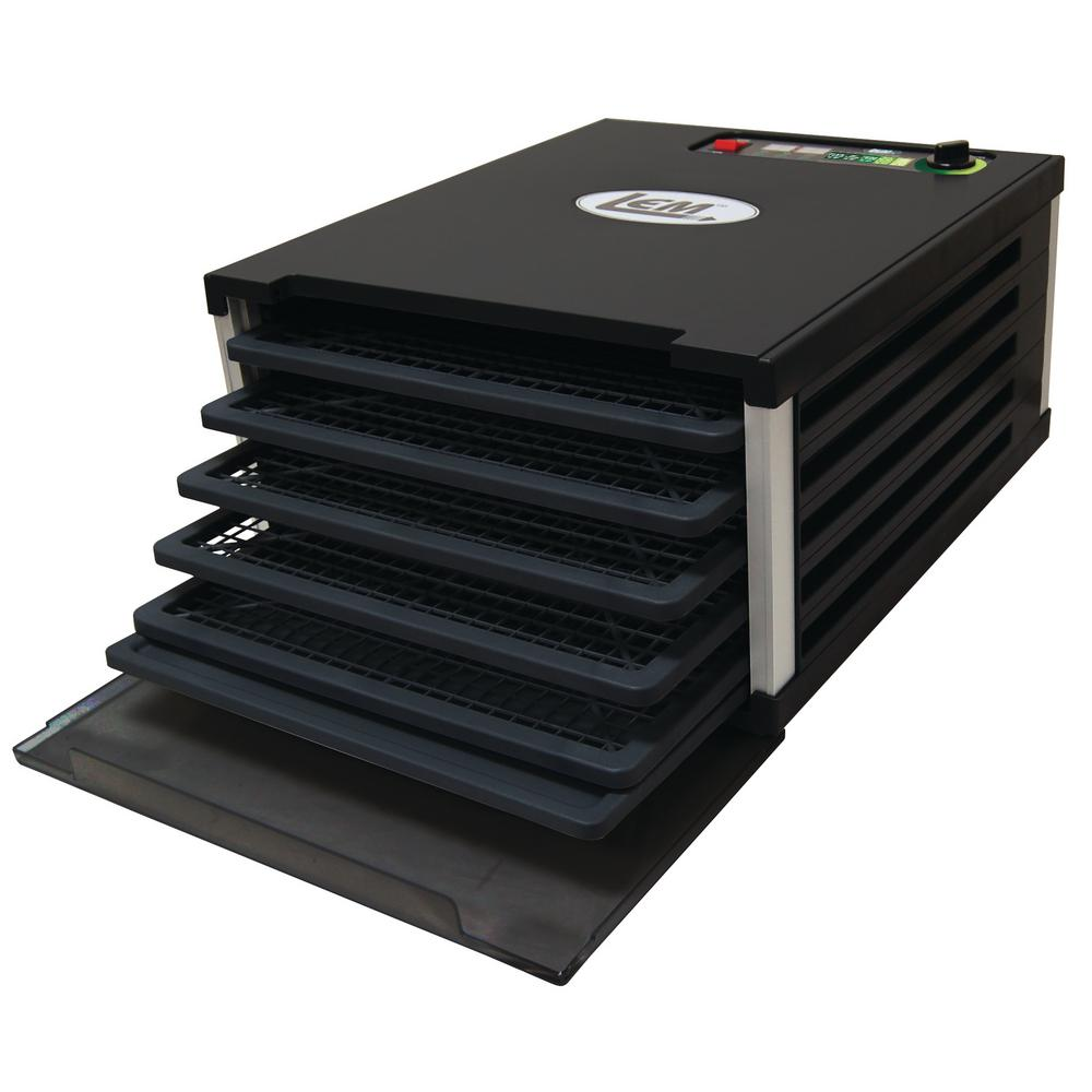 5-Tray Food Dehydrator, Black/Plastic