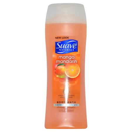Suave Naturals Mango Mandarin Body Wash by Suave for Women - 12 oz Body Wash