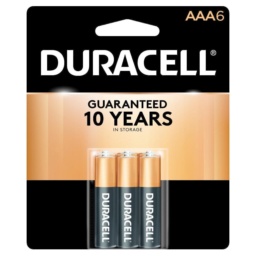 Duracell CopperTop Aaa Alkaline Batteries - 6-ct
