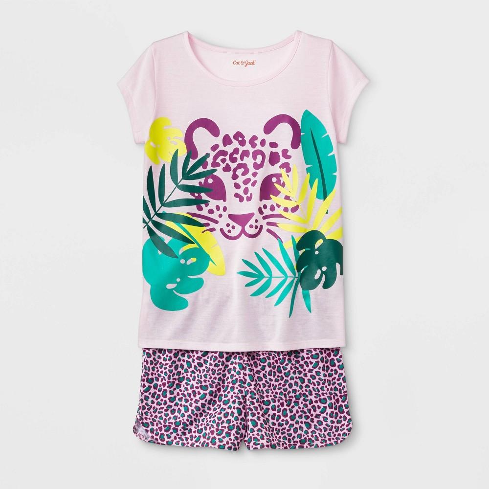 Girls' Pajama Set - Cat & Jack Modern Pink M