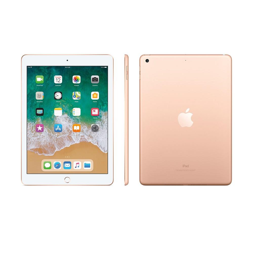 Apple iPad 9.7 32GB Wi-Fi Only (2018 Model, 6th Generation, MRJN2LL/A) - Gold
