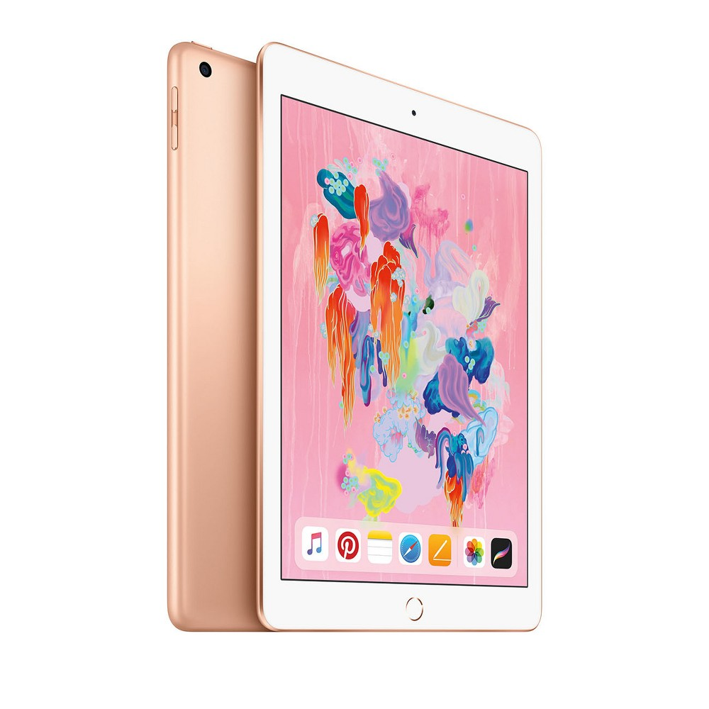 Apple iPad 9.7-inch 32GB Wi-Fi Only (2018 Model, 6th Generation, MRJN2LL/A) - Gold