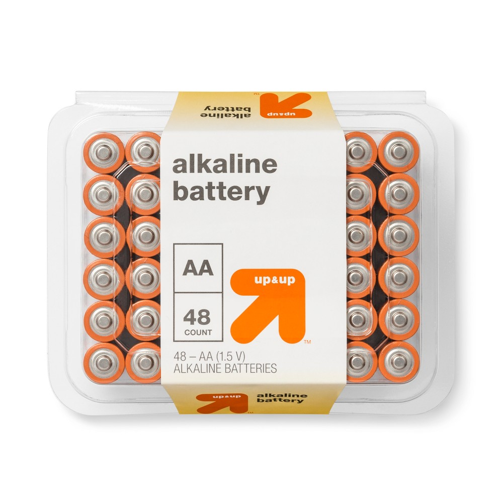AA Batteries - 48ct - Up&Up