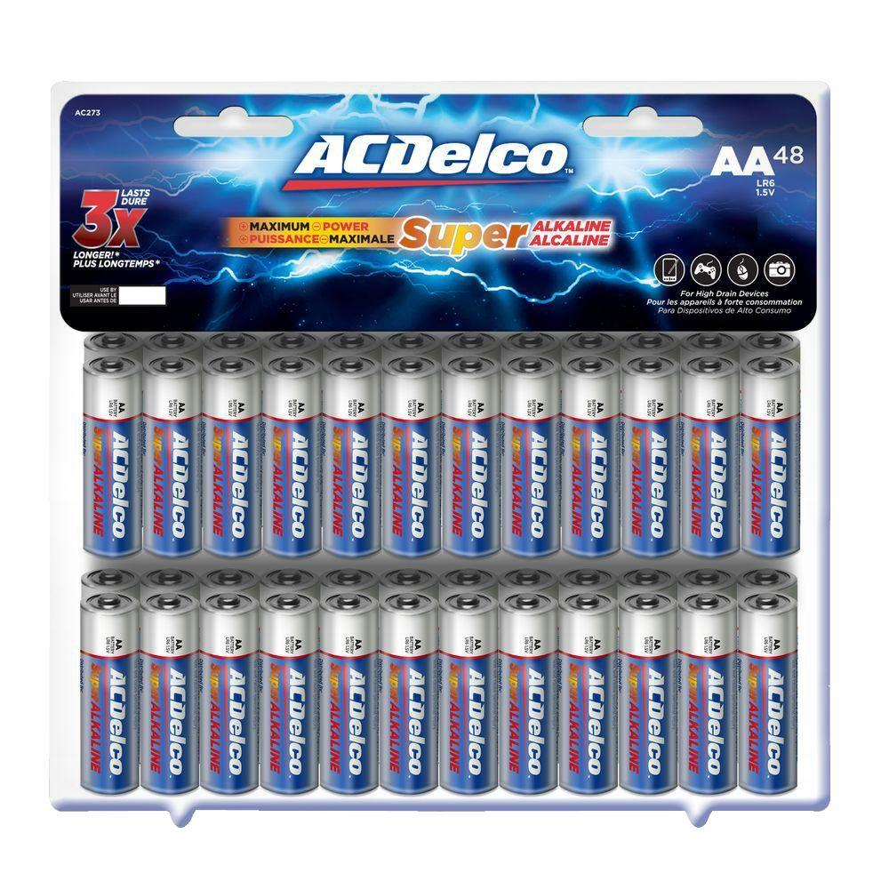 ACDelco Super Alkaline AA Battery (24-Pack)