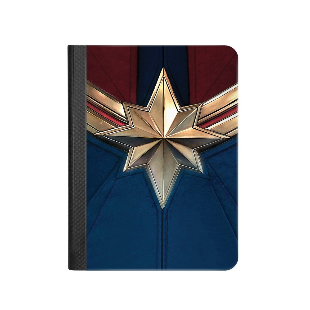 Marvel Captain Marvel Wide Ruled Composition Notebook - Innovative Designs, Multi-Colored