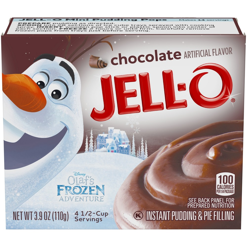Jell-O Instant Chocolate Pudding & Pie Filling - 3.9oz