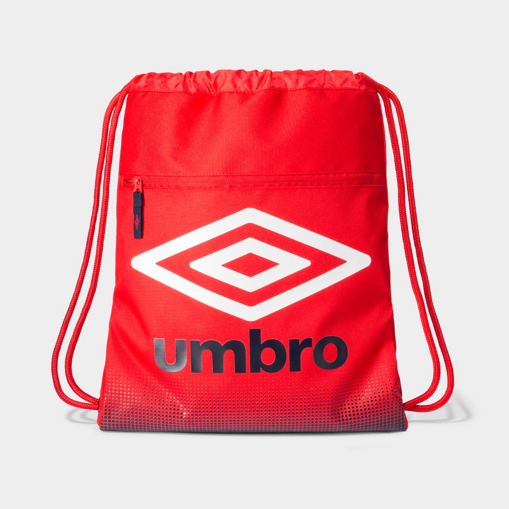 Umbro Heritage Boys Drawstring Bag - Red