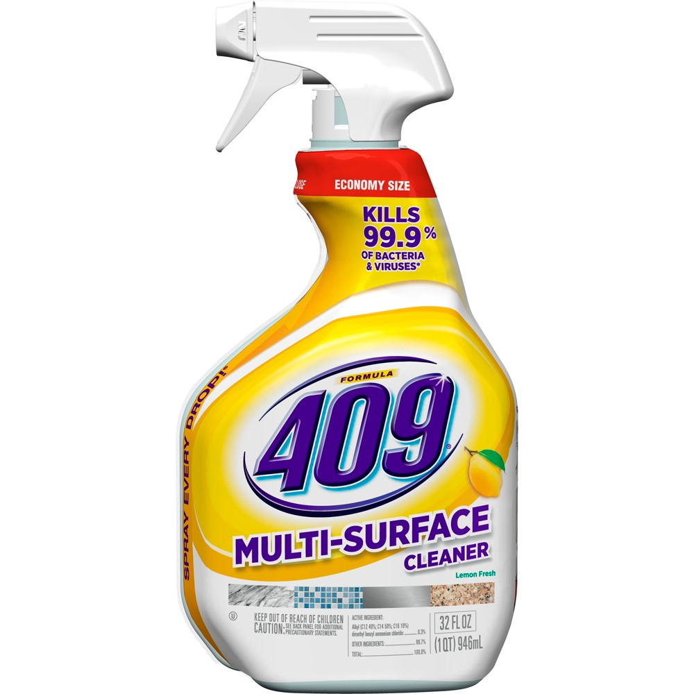Formula 409 Powerful All Purpose Cleaner Spray Bottle Lemon 32 oz
