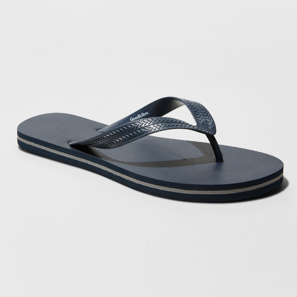 Men's Richmond Flip Flop Sandals - Goodfellow & Co Navy L, Blue