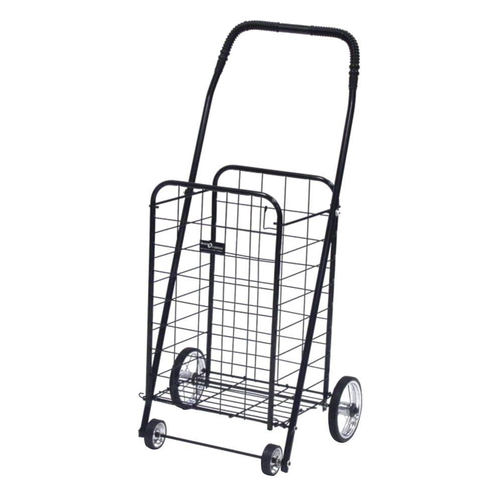 Easy Wheels Mini Shopping Cart in Black