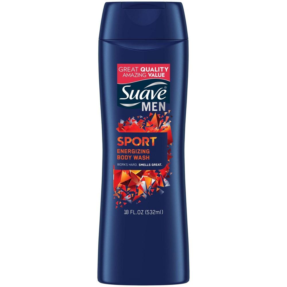 Suave Men Sport Body Wash - 18oz