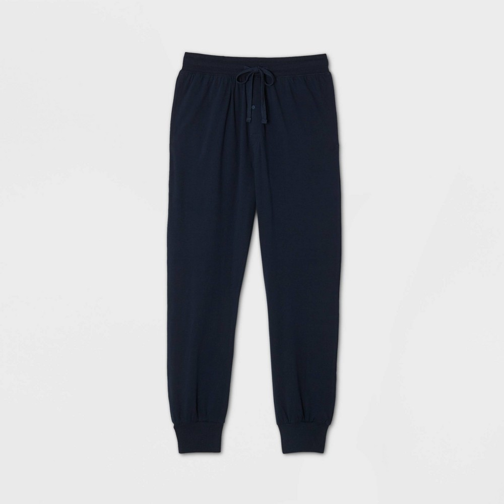 Hanes Men's Jogger Pajama Pants - Blue XL