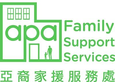 APA Family Support Services logo