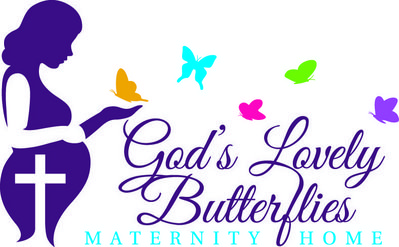 God's Lovely Butterflies Maternity Home logo