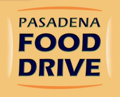 Pasadena Food Drive logo