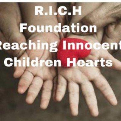 R.I.C.H. Foundation (Reaching Innocent Children Hearts) logo