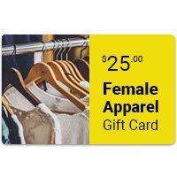 Female Apparel eGift Card