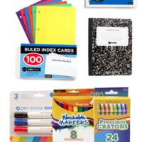 Back to School Supply Kit PK-5th
