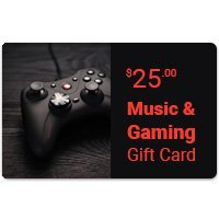 Music & Gaming eGift Card