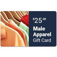 Male Apparel eGift Card